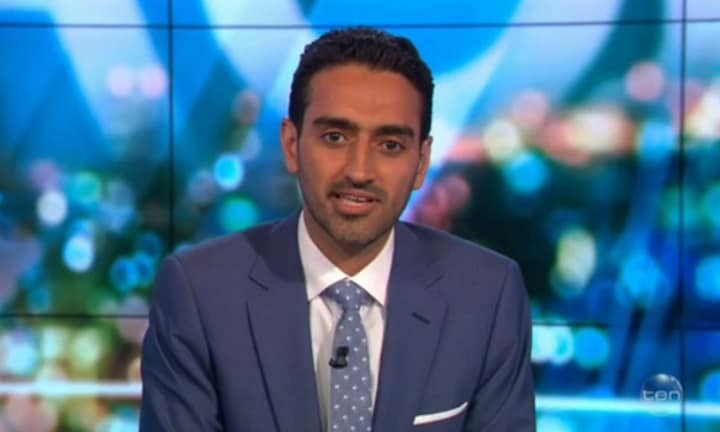 The issue that silenced Waleed Aly on The Project
