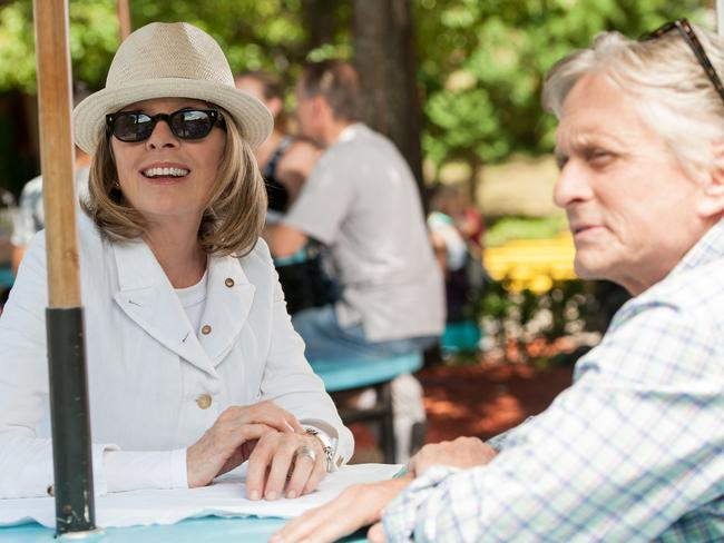 Diane Keaton and Michael Douglas in a scene from  <i>And So It Goes</i>. Picture: Supplied