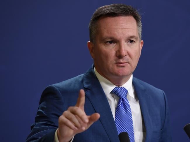 Shadow Treasurer Chris Bowen was also reportedly a victim of the Yahoo hack. Picture: AAP