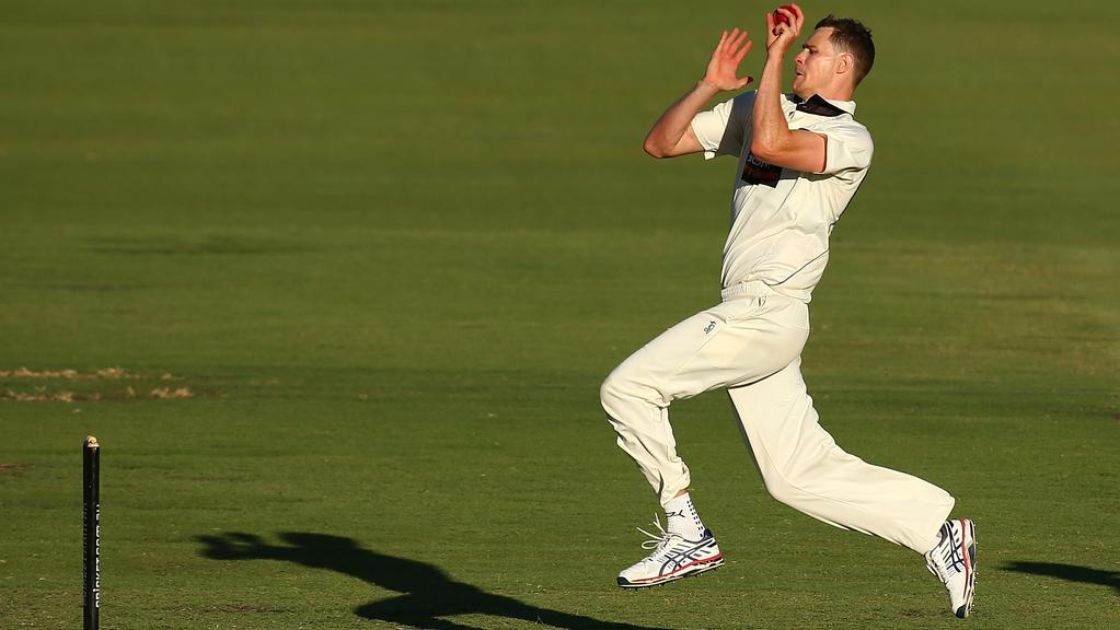 Western Australian seamer Jason Behrendorff cut a swath through the Victorians last start. Picture: Getty Images
