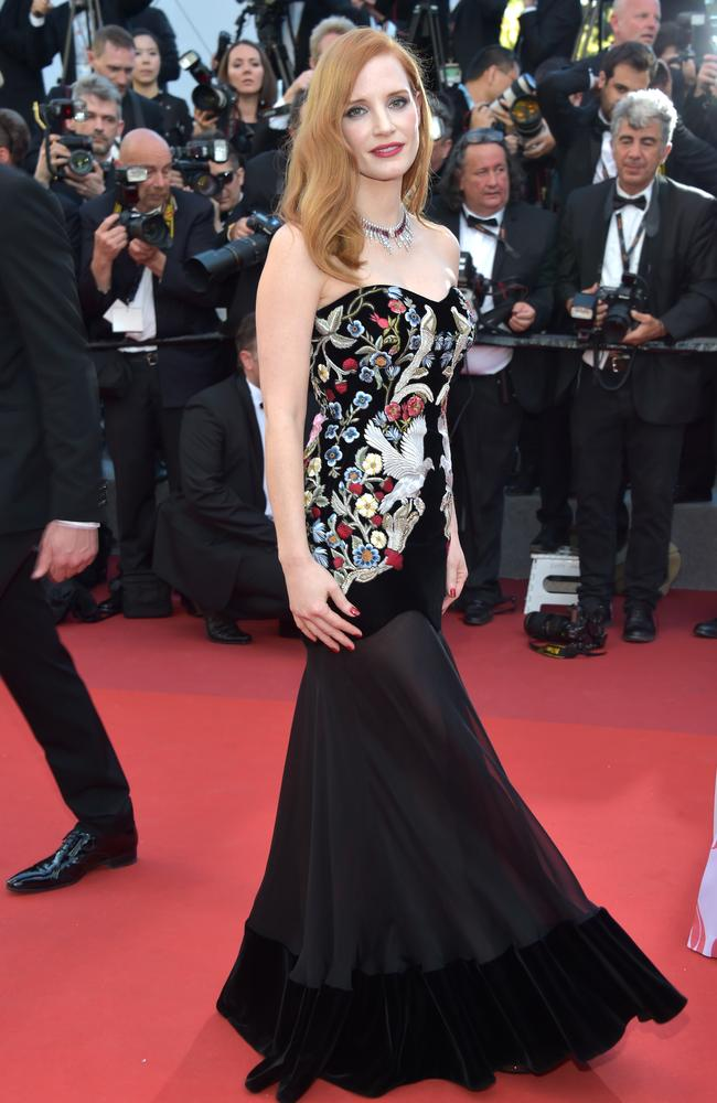 Actress and Cannes jury member Jessica Chastain. Picture: Pascal Le Segretain/Getty Images