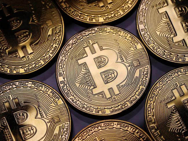One bitcoin was worth over US$15,000 this week. No wonder there's such a rush to find them. Picture: Dan Kitwood/Getty Images
