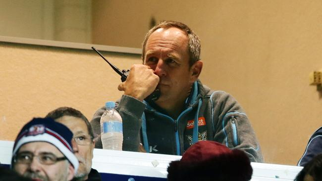 Outgoing Titans coach John Cartwright looks less than impressed in his final game in charge.