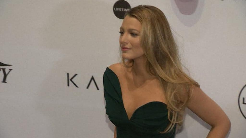 Blake Lively attends Michael Kors show at New York fashion ...