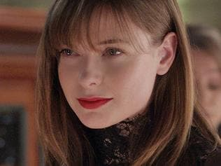Rebecca Ferguson in a scene from The Snowman.