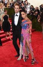 """Robert Pattinson and FKA Twigs attend the Met Gala 2015 """"China: Through The Looking Glass"""". Picture: Getty"""