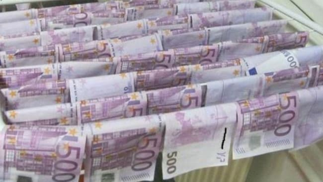 Forged 500 euro notes, worth almost $800 each, were found floating in the Danube river in Vienna late last year.