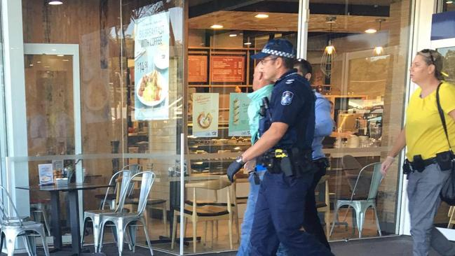 Gold coasters work to arrest an attempted robbery in burleigh gold coast bulletin - Smashing glass coasters ...