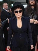 Musician Yoko Ono attends the 56th GRAMMY Awards at Staples Center in Los Angeles, California. Picture: Getty
