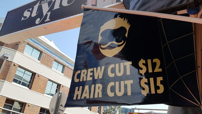Most cheap barbers now charge $15 for a standard haircut.