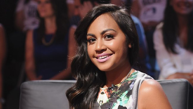 The Voice Australia .. Team Ricky mentor Jessica Mauboy. Picture: Channel 9