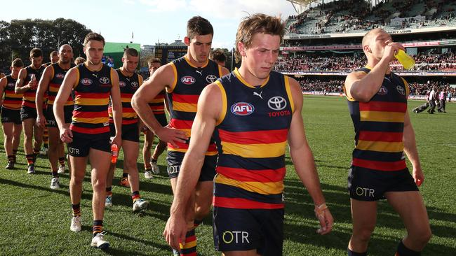 Are the Crows pretenders or contenders? Picture: Sarah Reed