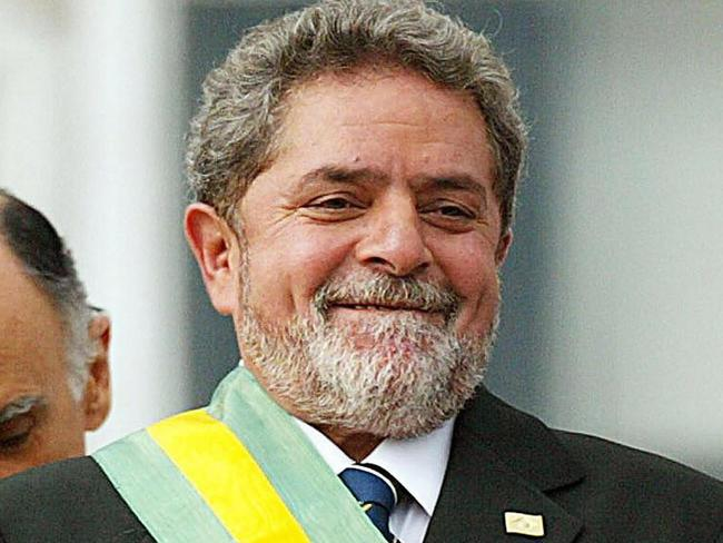 This file photo taken on 01 January 2003 showing Brazil's President Luiz Inacio Lula da Silva after receiving the presidential sash. Picture: AFP
