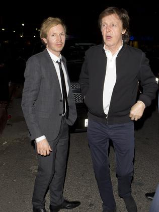 Paul McCartney and Beck were left out in the cold. Picture: SPW/Splash News