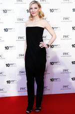 Cate Blanchett attends the IWC Schaffhausen For The Love Of Cinema IWC Filmmakers Award 2013 at One And Only Royal Mirage on December 7, 2013 in Dubai, United Arab Emirates. Picture: Getty