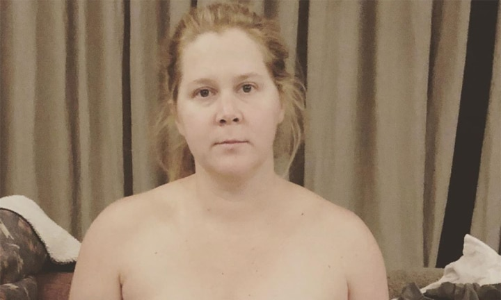 Amy Schumer shares hilarious breast-pumping photo