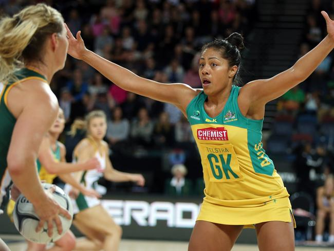 Kristiana Manu'a made her debut in last year's Quad series. .