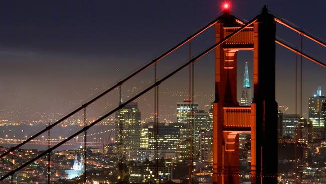 San Francisco is the most expensive city in the world to build in. Picture: San Francisco Tourism/Matt Ragghianti