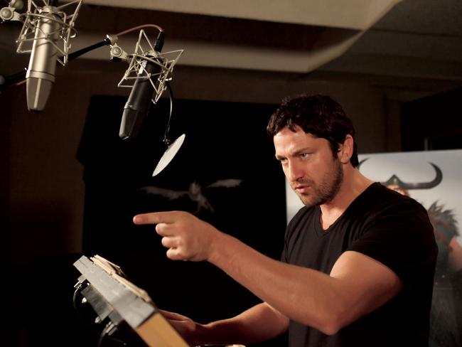 Gerard Butler gives voice to Stoick in the original  <i>How To Train Your Dragon </i>movie.