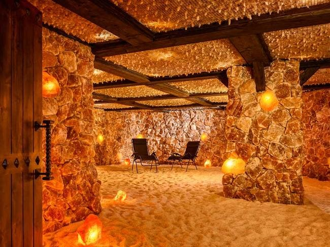 The Himalayan salt caves of Santa Barbara.