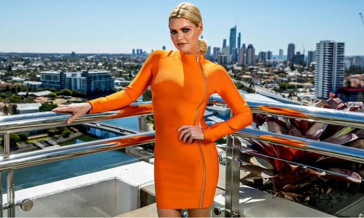 SOPHIE MONK: Despite being as 'true blue' as they come, our favourite Bachelorette, it turns out, was born in England. Sophie got her big break on the reality TV show Popstars before moving to LA.