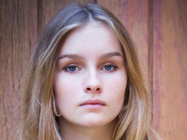 Hiding actress Olivia DeJonge. Picture: ABC