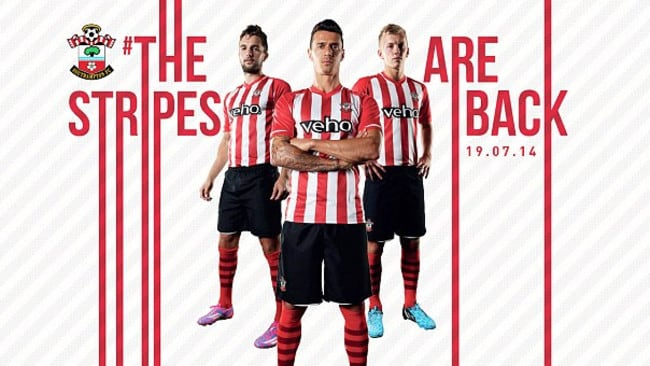 Southampton's home kit is nice, but will they have any players left to wear it?  <b>STOKE CITY</b> <b></b>