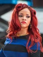 <p>Rihanna become quite the fan of the flame-red look recently. Picture: Snappermedia</p>