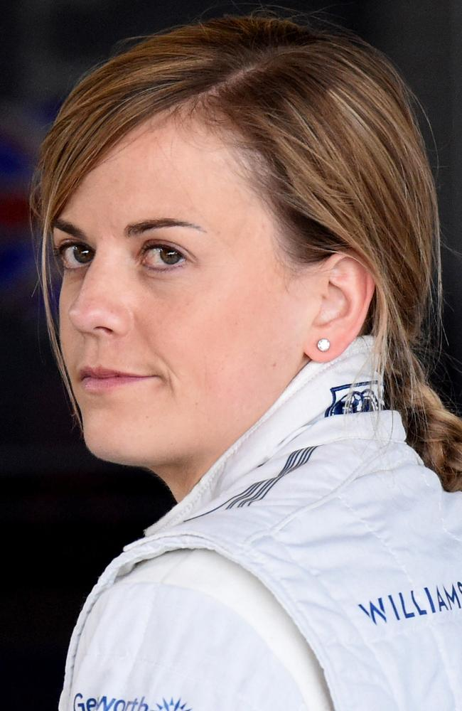 Williams' Scottish driver Susie Wolff.