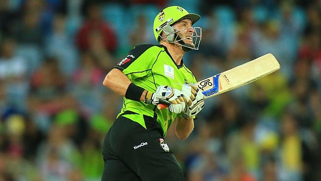Mike Hussey has been in indifferent form this season. Picture: Mark Evans.