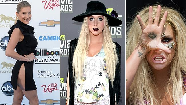 Ke$ha has made frequent appearances on 'Worst Dressed' lists in recent years. Could her sleek new image change that? Picture: Getty