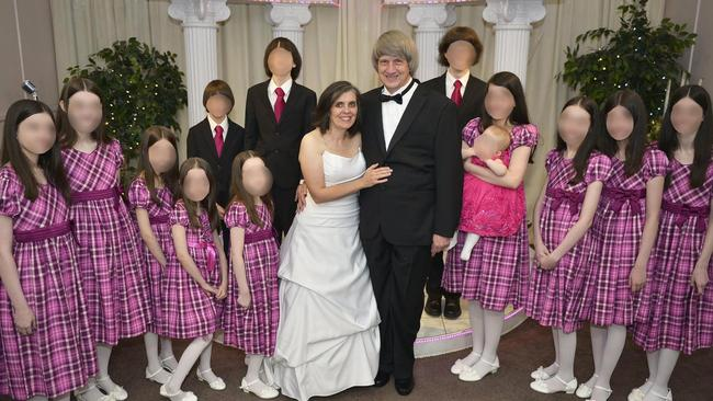 "The ""frail"" oldest of David and Louise Turpin's children was bullied at school for how she smelled and dressed, a former classmate says. Picture: Last week the 13 siblings were found imprisoned and emaciated in their California home. Picture: Supplied"