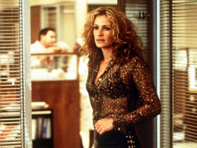 Iconic film ... actress Julia Roberts in the 2000 film Erin Brockovich. Picture: Supplied