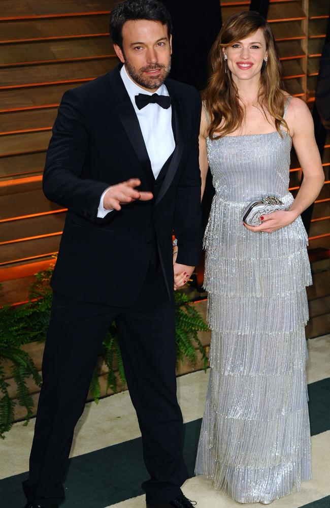 In happier times ... Ben Affleck and Jennifer Garner attend the 2014 Vanity Fair Oscar Party. Picture: Anthony Harvey/Getty Images