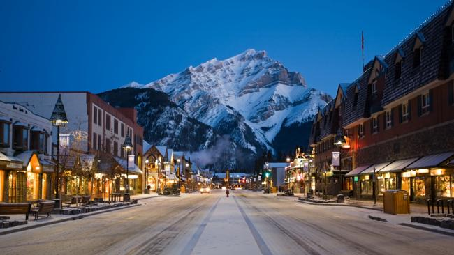 Banff?s main street. Picture: supplied.