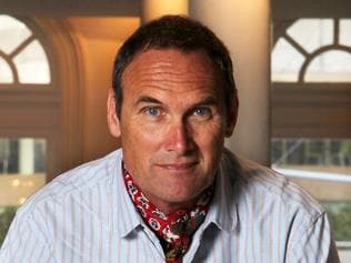World renowned food critic, AA Gill is pictured at the Establishment Restaurant in Sydney.