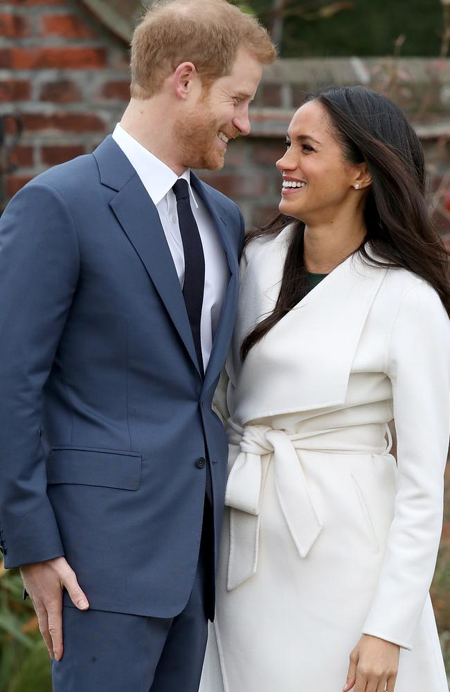 The engagement picture was beamed around the world, but one royal expert said it broke a few fashion rules. Picture: Chris Jackson/Getty Images