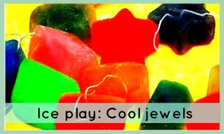 Ice play: Cool jewels