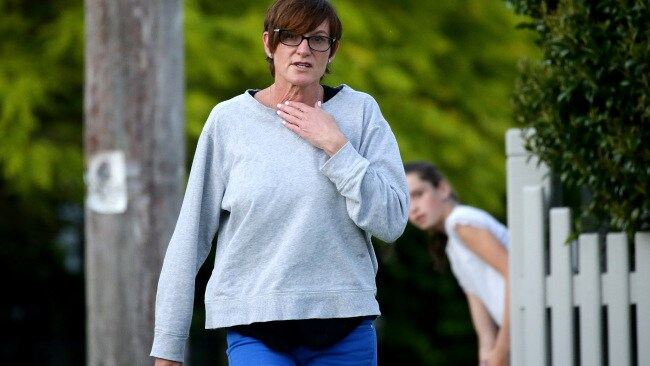 Cassandra Thorburn wife of Karl Stefanovic pictured in Lindfield. Picture: Jonathan Ng