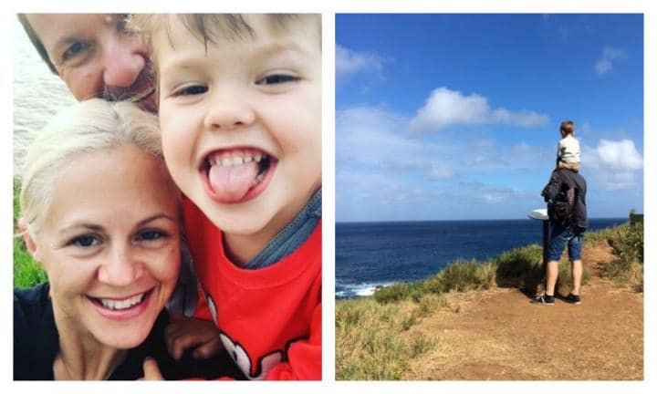 Mum reveals what it's really like holidaying with a toddler