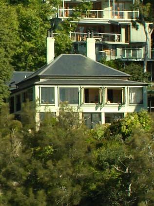 This luxury house in Sydney's Hunters Hill is owned by Sam Guo.