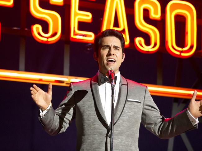 John Lloyd Young, here as Frankie Valli in the movie <i> Jersey Boys</i>, is working with the Obama administration.