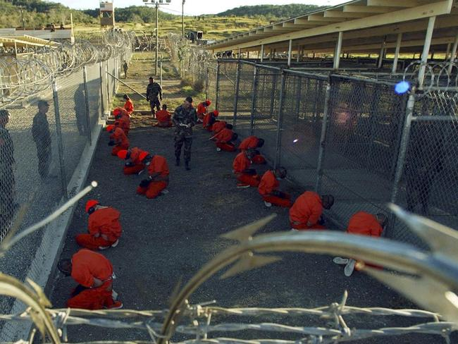 It's thought that Guantanamo inmates were regularly tortured and abused.