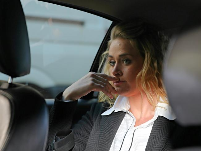 Kate DeAraugo is facing fresh charges after allegedly being found in possession of the drug ice twice in five days. Picture: John Grainger