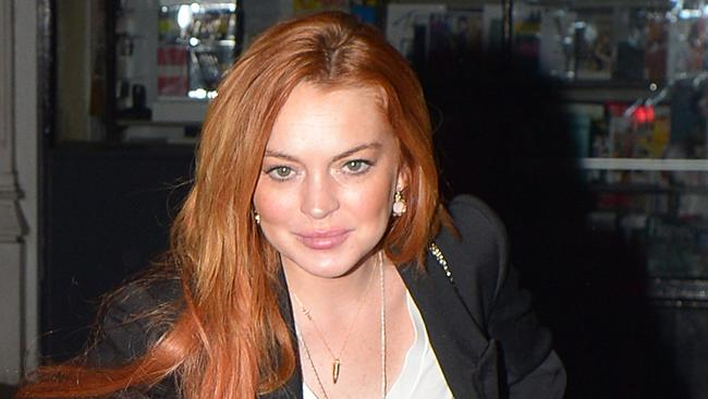 Lindsay Lohan is suing for unspecified damages.