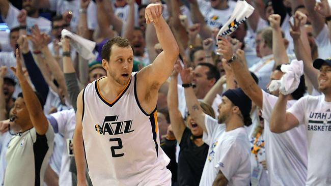 Joe Ingles is a leader for the Utah Jazz. Picture: Getty Images/AFP