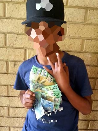The 11-year old boy who has been charged with the murder of 27-year old Patrick Slater. Picture: Facebook.