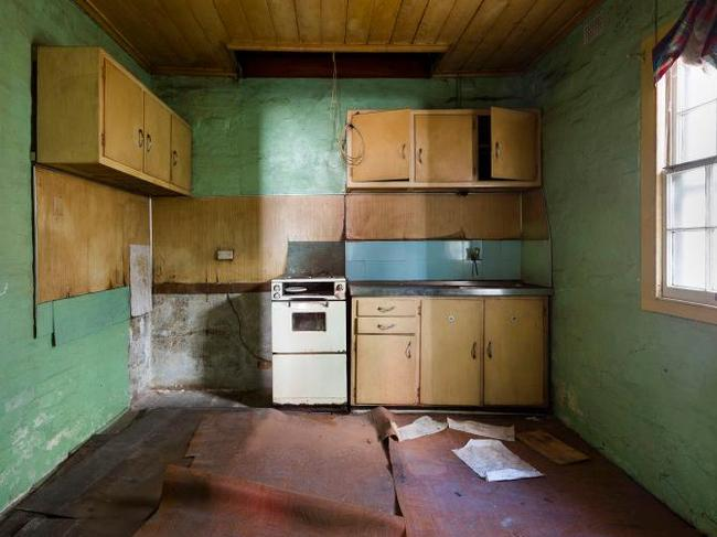 12 Sparkes Street Camperdown sold for $1.96 million under the hammer despite its dilapidated state. Picture: BresicWhitney