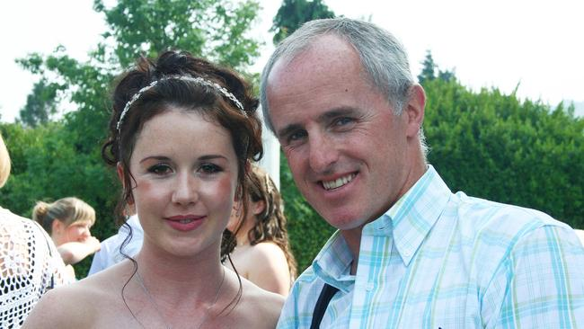 Jill is pictured here on her wedding day with her uncle from Drogheda, Michael McKeon. Picture: Ciara Wilkinson.