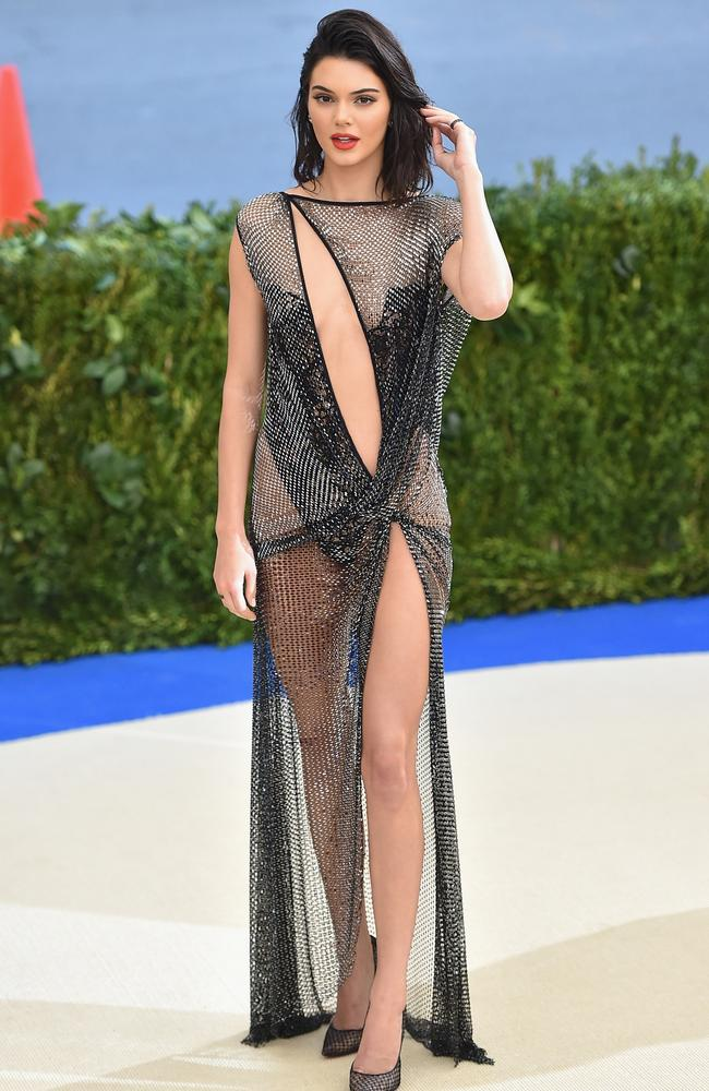 THAT G-string dress she wore by La Perla to this year's Met Ball.